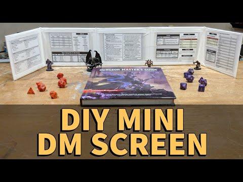 D&DIY Mini DM Screen