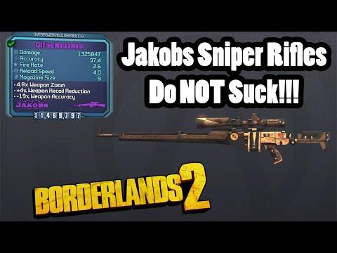 Borderlands 2: Jakobs Snipers Do Not Suck! |