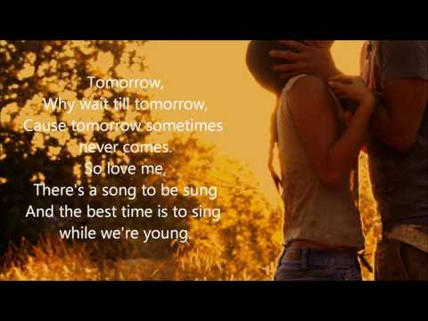 The Young Ones by Cliff Richard (cover) with lyrics