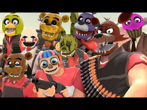[SFM FNAF] 60K SUB CELEBRATION - Animatronic webcams!!!
