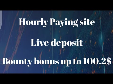 Cryptovalley.ltd | Hourly paying site | Bounty bonus up to 100.2$