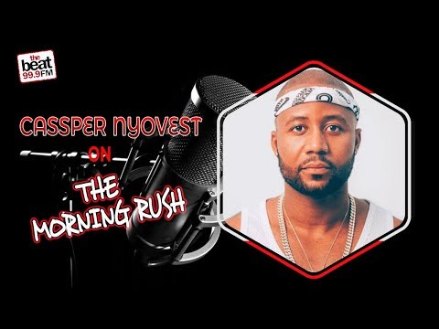 South Africa's Casper Nyovest Drops By The Morning Rush !!