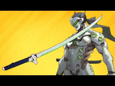 Genji Overwatch - Dragon Blade Katana - How to make Ninja Genji's Sword