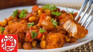 Самый вкусный ужин за 30 минут! Курица по-мексикански для всей семьи