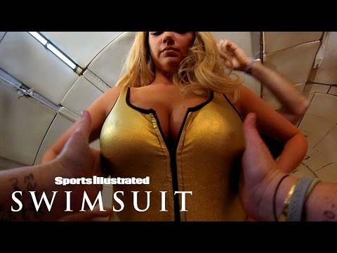 Kate Upton Floats Above You In Zero Gravity: Behind The Scenes | Sports Illustrated Swimsuit