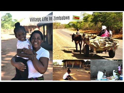 Village life in ZIMBABWE