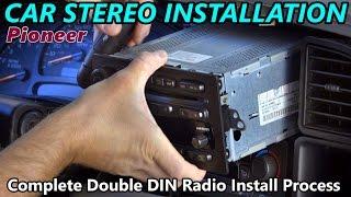 Full Double DIN Car Stereo Installation -  Retain Steering Wheel Control, Onstar