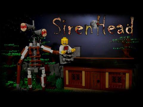 LEGO Мультфильм Сиреноголовый / SCP-6789 Siren Head