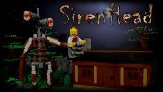 LEGO Мультфильм Сиреноголовый / LEGO Stop Motion, Animation Siren Head