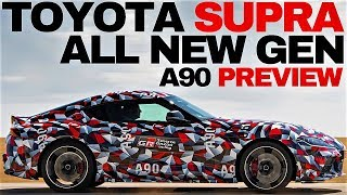 2019 TOYOTA SUPRA PREVIEW ! WATCH OUT !!!