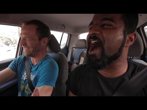 Carpool Karaoke in India - American Indian Series