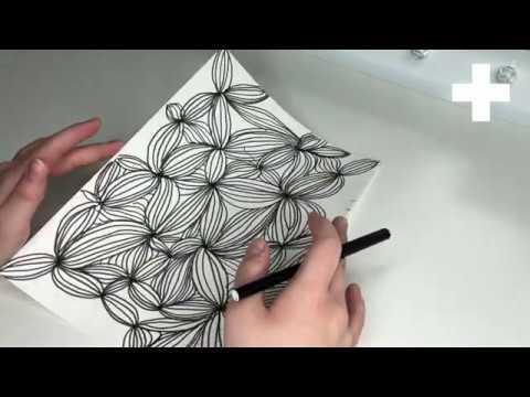 Henna Muster Einfach Zentangle Designs Zentangle 15