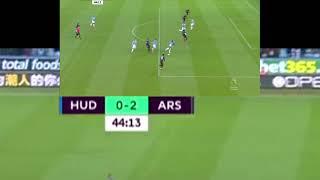 Arsenal vs Huddersfield Town premier league highlights 阿仙奴 對 哈特斯菲爾德 英超精華