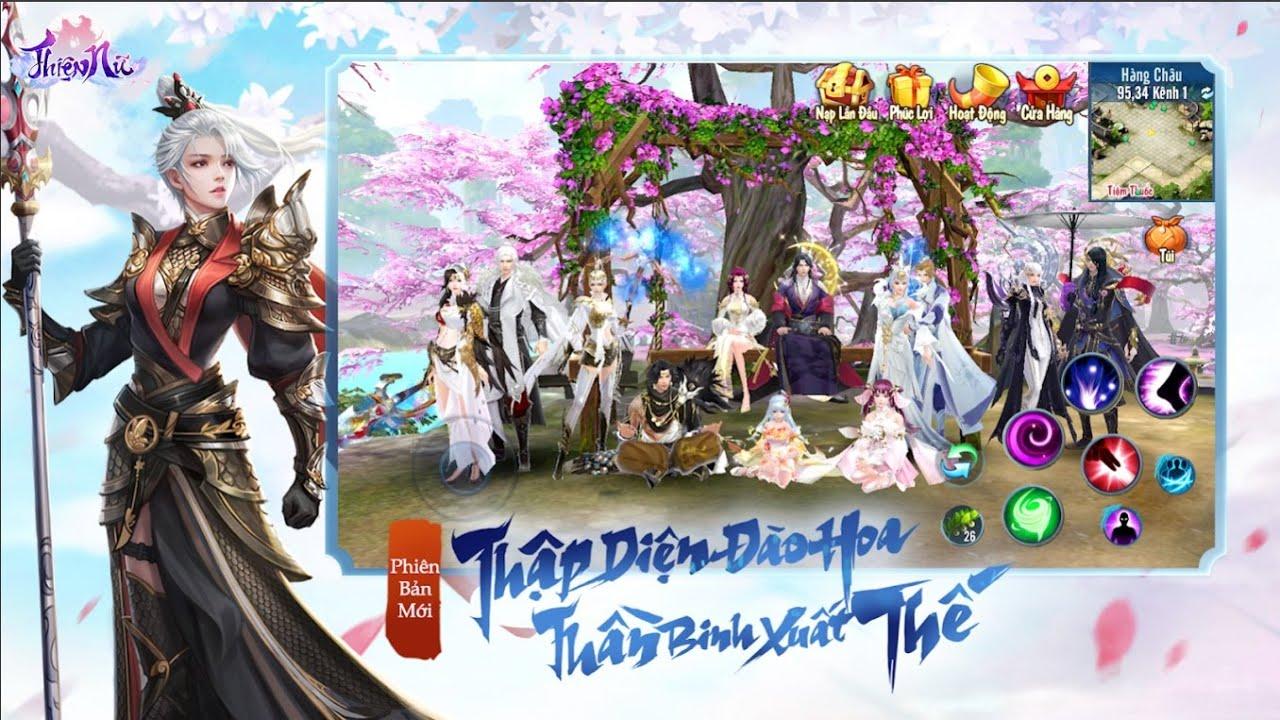 🎮[Thiện Nữ 2][MMORPG] Trải Nghiệm Game Kiếm Hiệp Lột Xác Đồ Họa Đến Từ NPH VNG