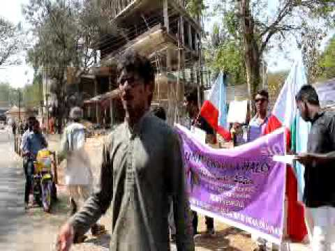 protest on Rohith Vemula sucide by sio dharwad