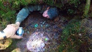 Мы нашли этот проклятый бункер и я в него залез