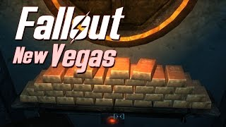 Fallout New Vegas Dead Money - How to Get all 37 Gold Bars [No Stealth Boy]