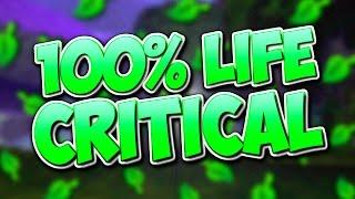 Wizard101: 100% LIFE CRITICAL! (Prodigious Life Quick Match 1v1)