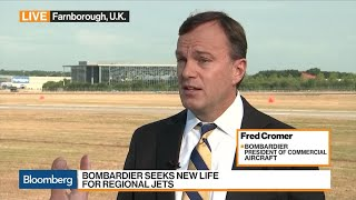 Bombardier's Cromer On Turnaround Plan, Airbus Partnership, China