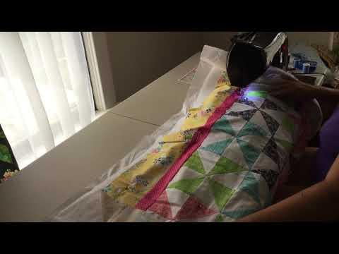 Making the Quilt Sandwich