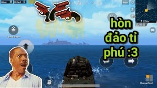 PUBG Mobile - Nghe Đồn Hòn Đảo Này Lắm Flare Gun Và Quá Bất Ngờ | Combo MK14 + AWM Giật Top 1 :v