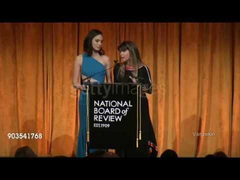 Gal Gadot & Patty Jenkins - National Board of Review 2018 Speech