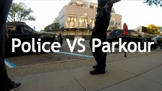 Police VS Parkour - Caught climbing buildings