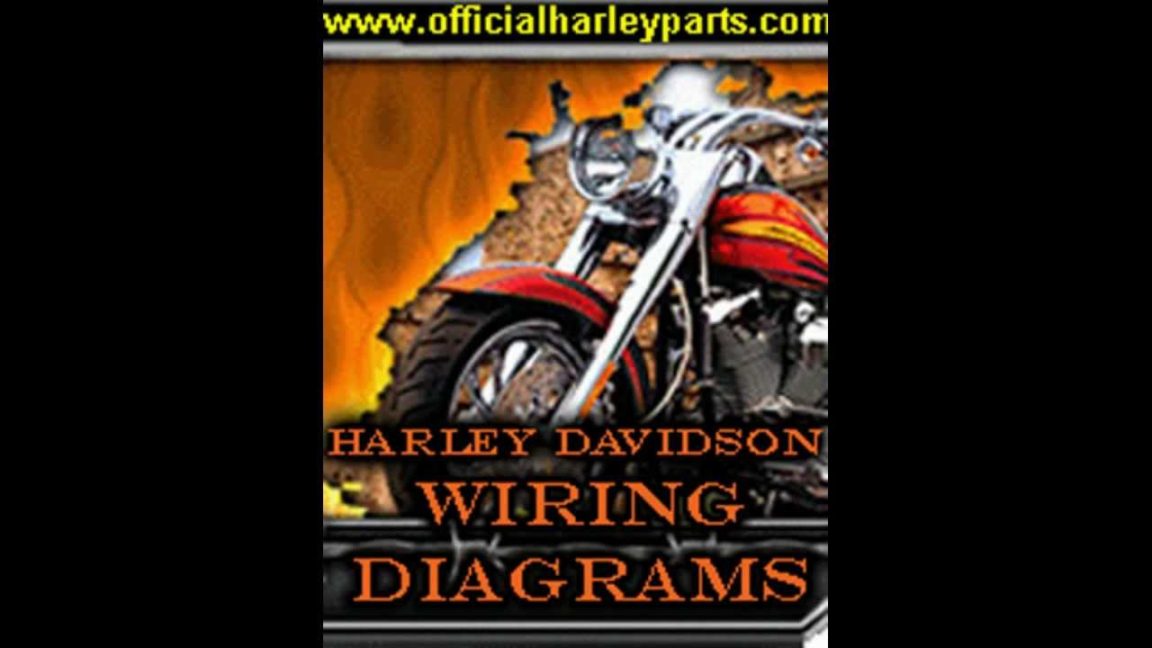 maxresdefault harley davidson wiring diagrams diy youtube 1995 harley davidson wiring diagram at aneh.co