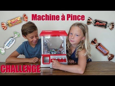 Challenge machine à pince