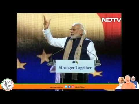 Narendra Modi speech at Brussels