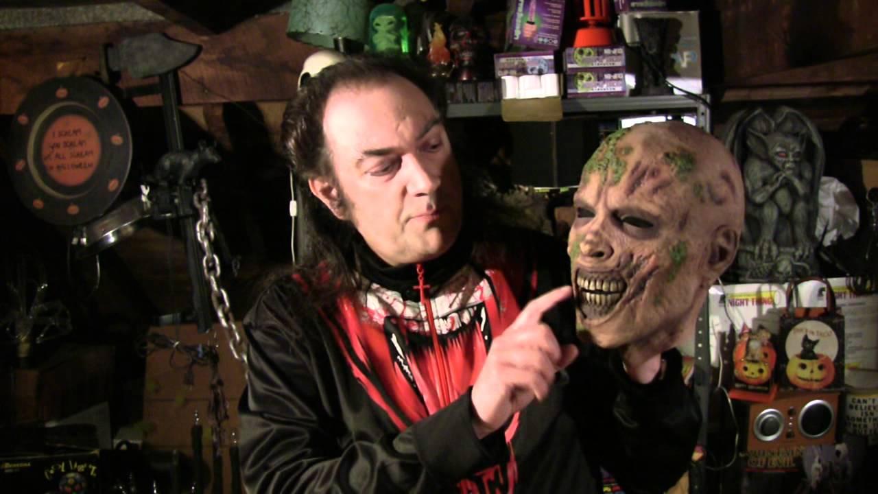 Walking Dead Zombie Moss Walker Mask
