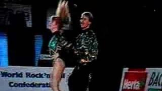 Acrobatic rock & roll: Vicital-Borkaová&Schiessl-Beck