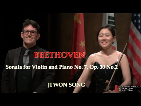 Ji Won Song- Beethoven Violin Sonata No. 7, Op. 30 No.2