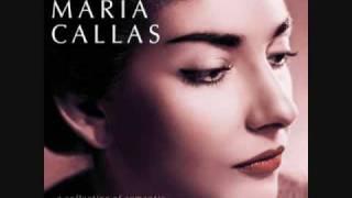 Maria Callas - Mon coeur s'ouvre à toi voix