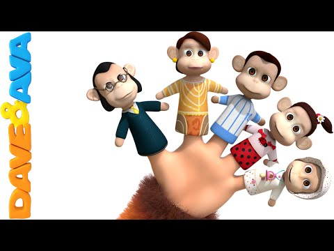 Thumbnail: Finger Family Song | Nursery Rhymes and Baby Songs | YouTube Nursery Rhymes from Dave and Ava