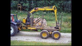 Volvo BM SM 868 'sta tehty mekaaninen vetävä metsäkärry