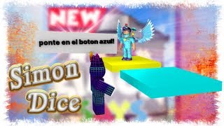 ¡SIMON DICE en ROBLOX! *PIERDO MUCHAS VECES* - Simon Says Roblox | CreatorBroly