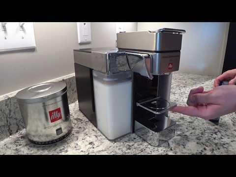REVIEW: Illy Y5 Milk Capsule Espresso Machine