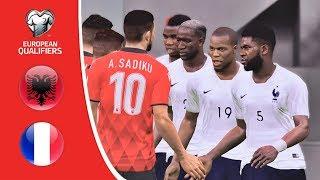 Albania vs France - UEFA Euro 2020 Qualifying - Highlights (English Commentary)