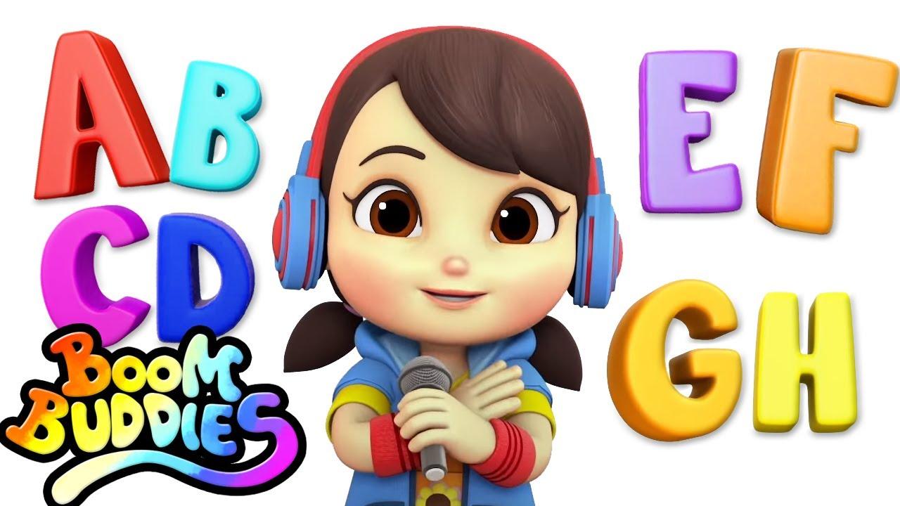 Abc Canção Do Alfabeto Musica Infantil Portuguesa Educação Boom Buddies Canção Infantil Youtube