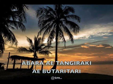ABARA AE TANGIRAKI AE BUTARITARI - Kiribati@tm..