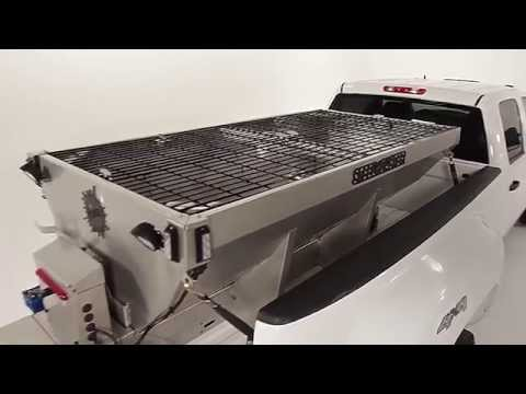 STEEL-CASTER Stainless Steel Hopper Spreader - Own The Ice - Fisher Engineering