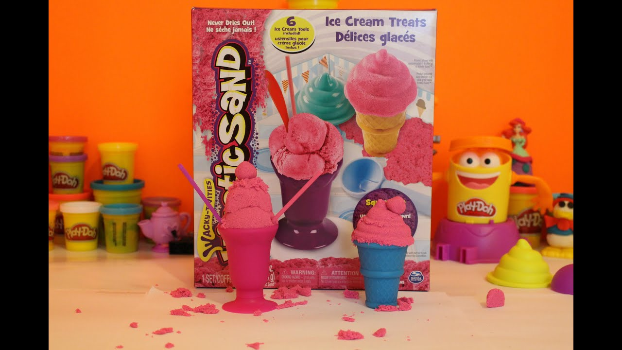 Kinetic Sand Ice Cream Treats Toys Quot R Quot Us Youtube