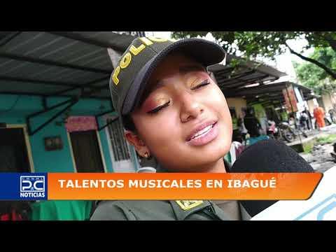 Jóvenes ibaguereñas son el centro de atención por su talento musical en la Policía Nacional