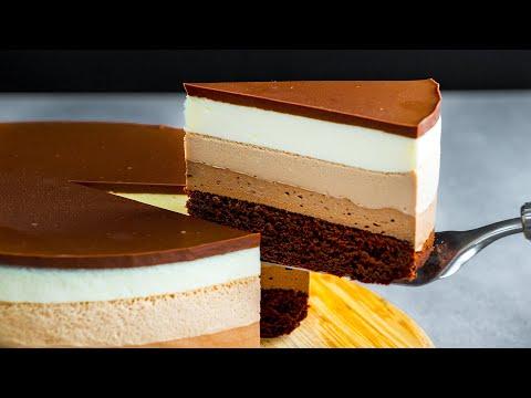 découvrez-le-meilleur-dessert-de-votre-vie!-gâteau-au-chocolat-en-3-couches|-savoureux.tv