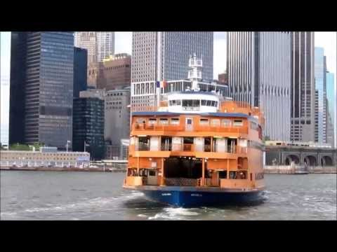 New York Harbor tour, part 4: Staten Island ferry, Lower Manhattan, Battery Park