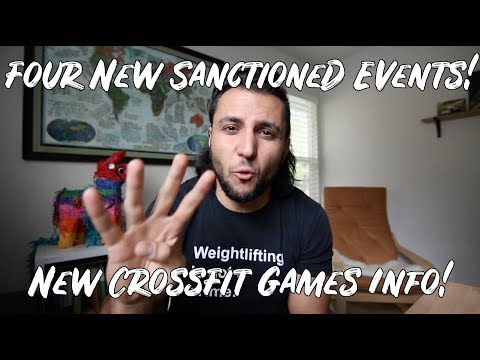 NEW CrossFit Games Sanctioned Events - South Africa, Brazil, France, Mid-Atlantic