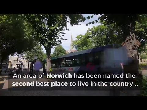 NR6 in Norwich voted 2nd best place to live in the UK...