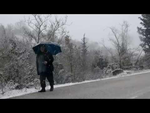 Χιονιάς στην ορεινή Αχαΐα 5.1.2015