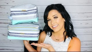 What I Pack In My Makeup & Toiletry Bag | My Travel Essentials
